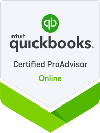 We are QuickBooks Certified Proadvisors for Desktop and Online.